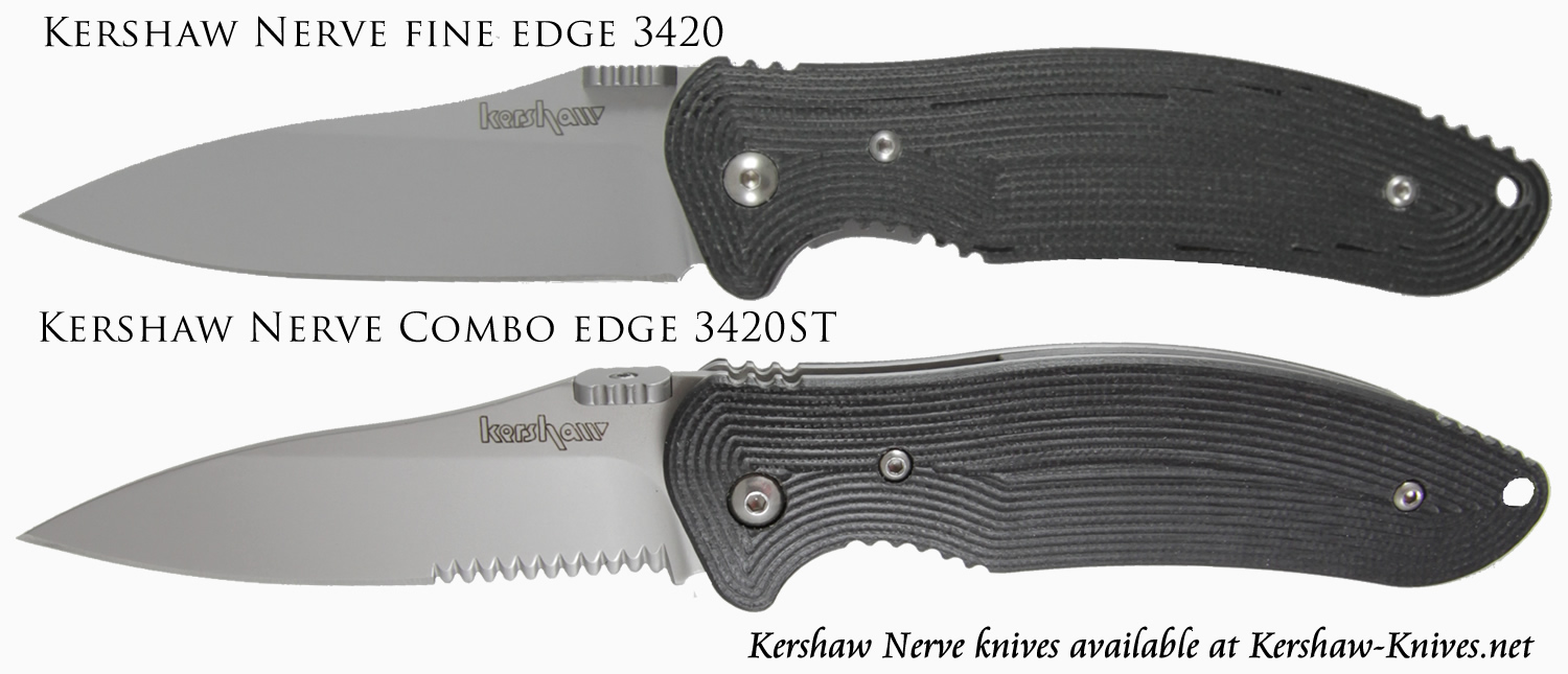 Kershaw Nerve Knife 3420