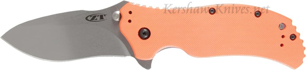 Zero Tolerance Orange Handle 0350OR