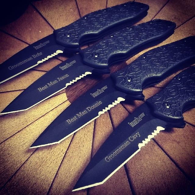Kershaw Kuro Tanto Knife 1835TBLKST