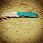 The Kershaw leek teal a new knife to our collection and what a great color.Find this and many other great colors on our site.