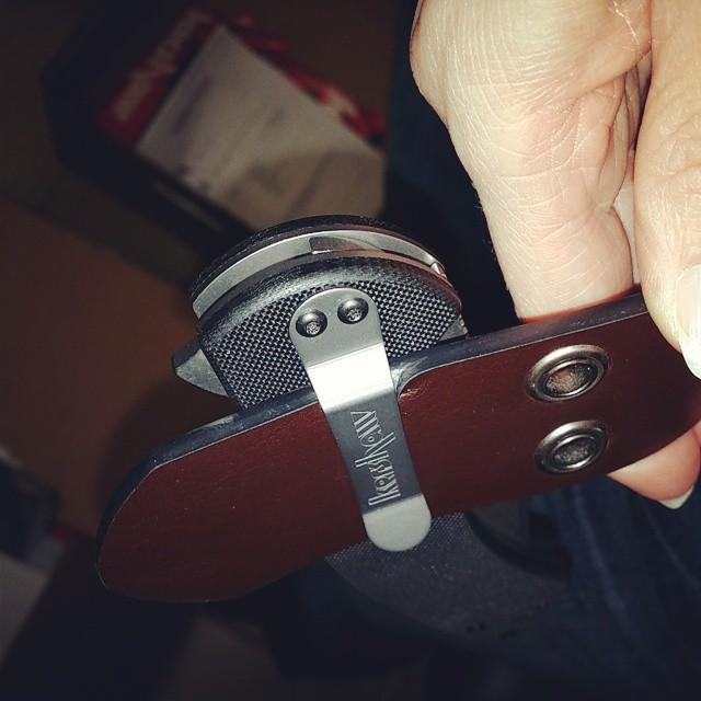 Kershaw Rake 1780CB on a 3/16 inch Belt