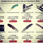 For the good boys and girls on your list this year, we have lots of Kershaw Knives on sale. This page is a snapshot of everything we have on sale at any given moment. Please bookmark it and check often because the page changes almost daily! kershaw-knives.net/onsale  #KershawKnives  #Knives  #PocketKnives  #KnivesOnSale  #Kershaw  #ZeroTolerance  #KnifeCommunity