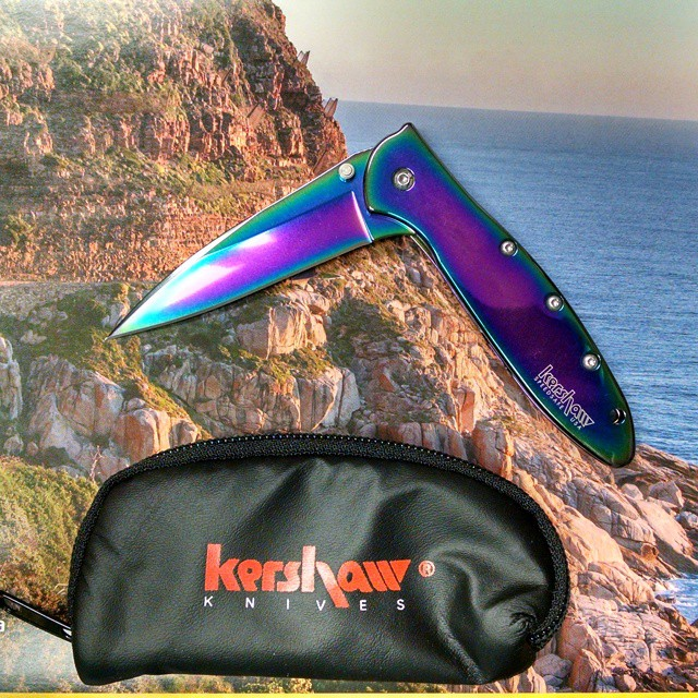 Kershaw Rainbow Leek Knife 1660VIB