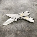 Kershaw Cryo Engraves in a Beautiful Gold Color #