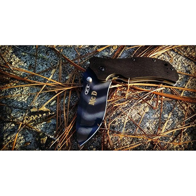 Kershaw Zero Tolerance TigerStripe Knife 0350TS