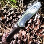 Beautiful Kershaw knife 80000L with a touch of green