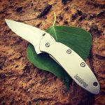 Kershaw Chive 1600. Classic stainless steel folding knife. Made in the USA.