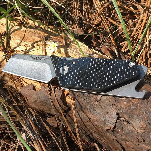 Kershaw Pub Knife w/ Carbon Fiber Handle 4036CF