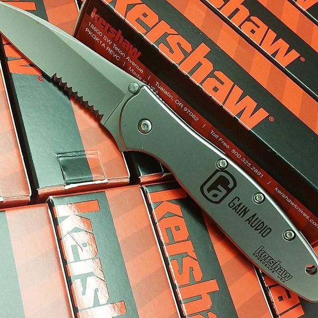 Logo Laser Engraving Kershaw Knife  #kershawknives #LaserEngraving #logo