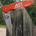 Orange Kershaw Leek with Laser Engraving