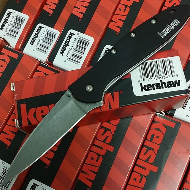 For our instagram followers: $39.99 sale on Kershaw Leek with stonewashed blade 1660SWBLK. How's that for a good deal?  https://www.kershaw-knives.net/Kershaw1660SWBLK-insta  #kershawknives #kershawleek