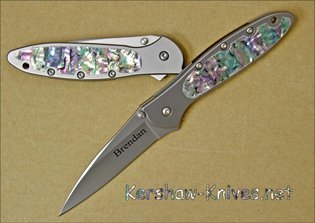 Popular this year are the Kershaw Leeks with the abalone touch that we add to the knife at our facility in Louisiana.  https://www.kershaw-knives.net/Kershaw-Abalone-Leek-1660ST-AB.php  #KershawKnives #abalone