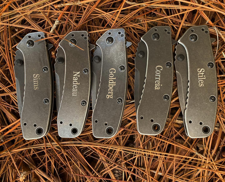 Kershaw Cryo II Blackwash Knife 1556BW