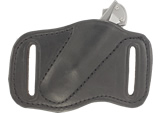Leather Sheath for Kershaw Leek Knives - Pancake Scout Carry Holster