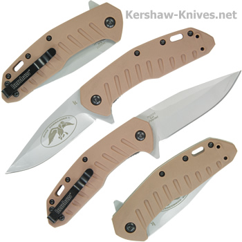 Kershaw Duck Commander Bisland Knife 7422DCX