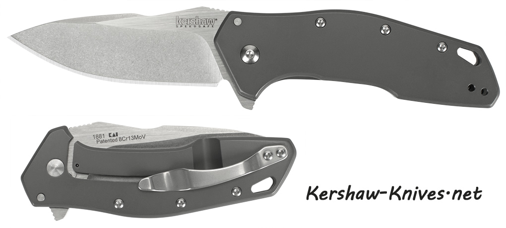 Kershaw 1881 Eris A/O Flipper Knife with Frame Lock