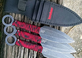 Kershaw Ion Throwing Knives 1747BWRX