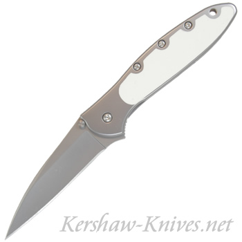 Kershaw Leek Knife with Glow in the Dark Handle Overlay