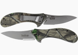 Kershaw Packrat Camo Serrated Knife 1665CST