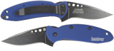 Kershaw Scallion Blackwash Navy Blue 1620BWBL 1620BWNB