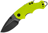 Kershaw Shuffle Lime Green Black Wash 8700LIMEBW