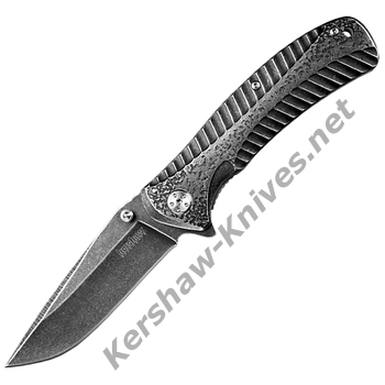 Kershaw 1301BW Starter Blackwash Knife