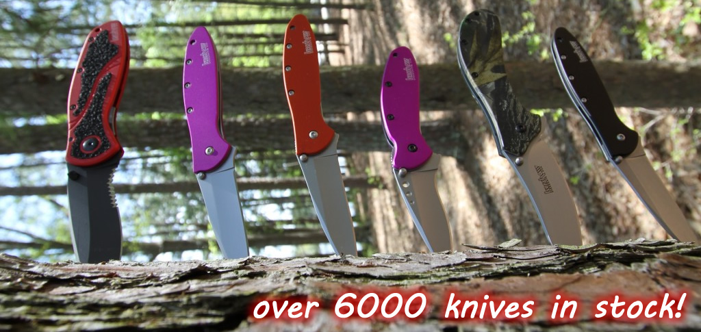 over 6000 Kershaw Knives in stock